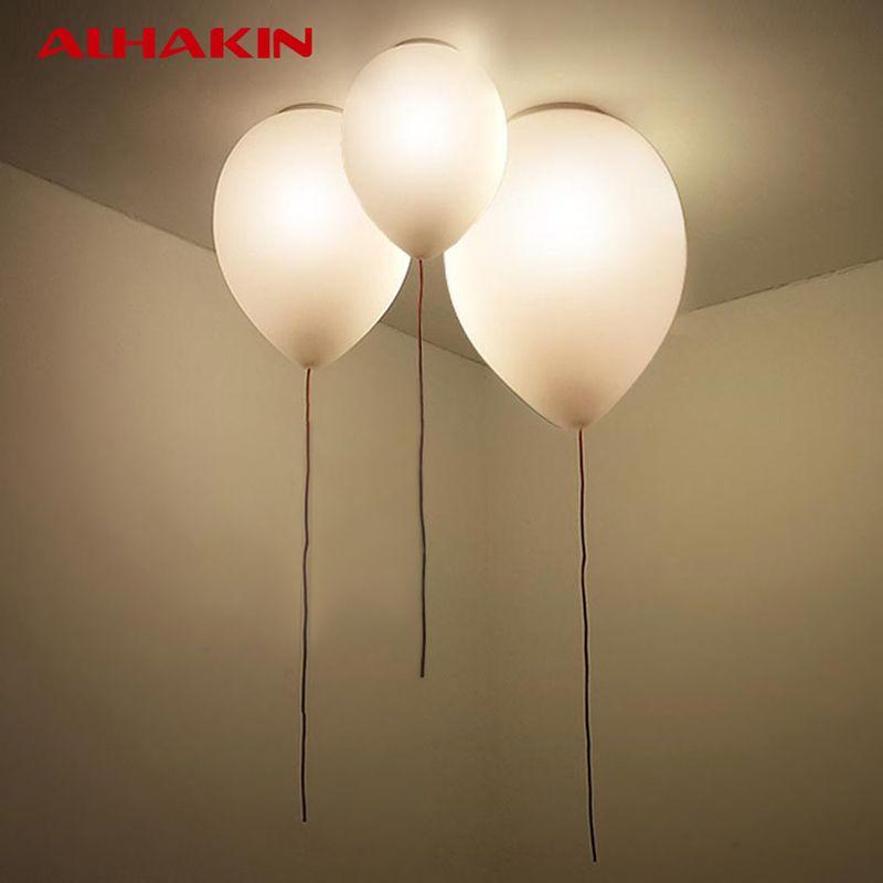 children bedroom lighting. ALHAKIN Designer Ceiling Light 32*32*25cm Ballon Lamp LED Bulb Children\u0027s Bedroom Children Lighting