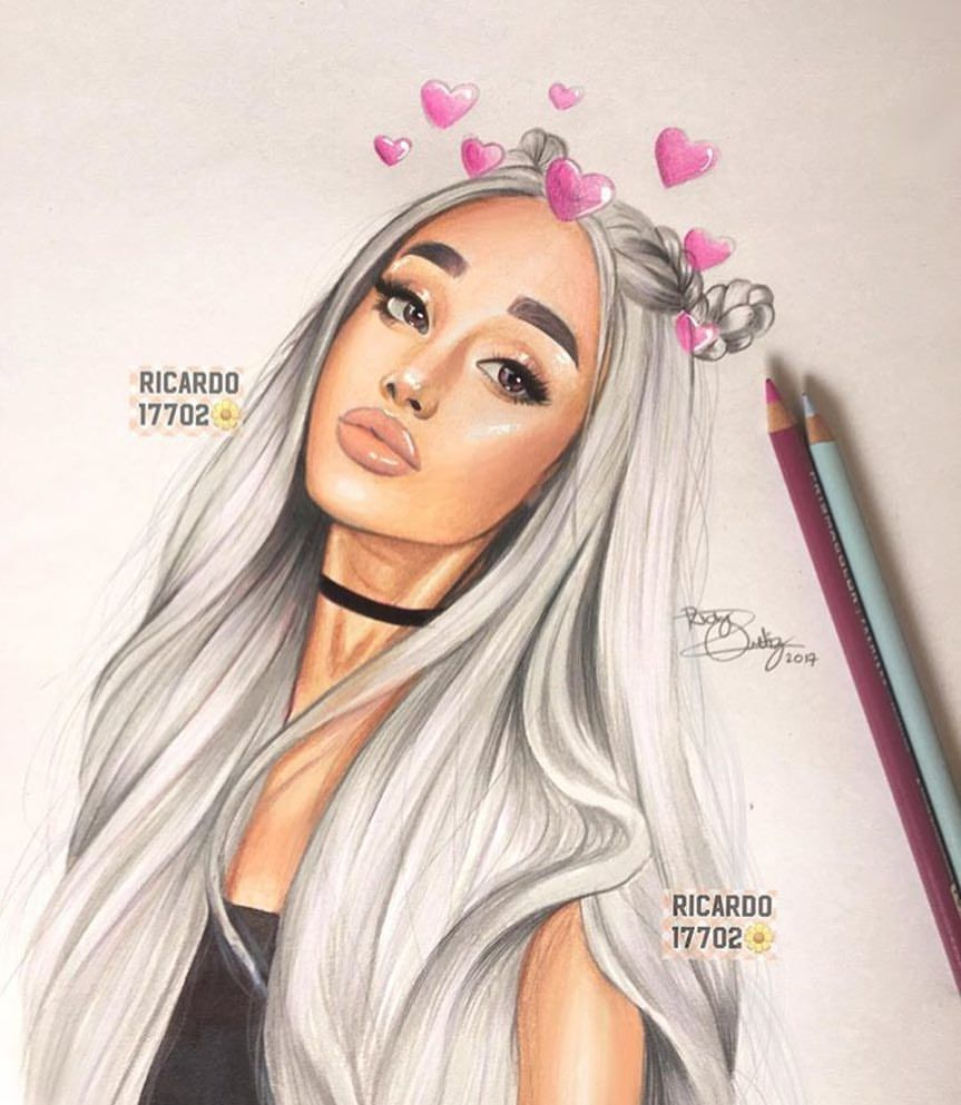 Ariana Grande Coloring Page Wiki Designs Collections