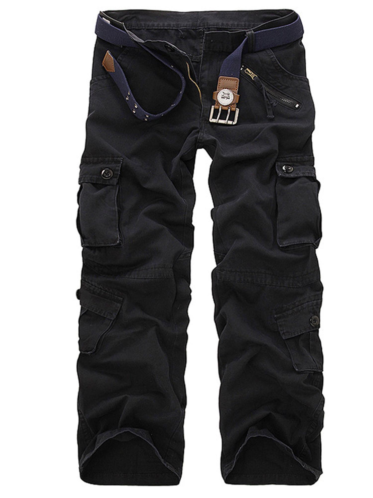 Lallc Men S Cargo Work Trousers Army Military Combat Multi Pockets Loose Cotton Pants Walmart Com In 2021 Cargo Pants Men Mens Casual Cargo Pants Camouflage Cargo Pants [ 2000 x 1500 Pixel ]