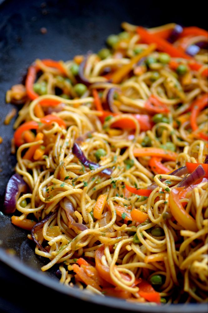 Photo of Fried Chinese Noodles with Vegetables