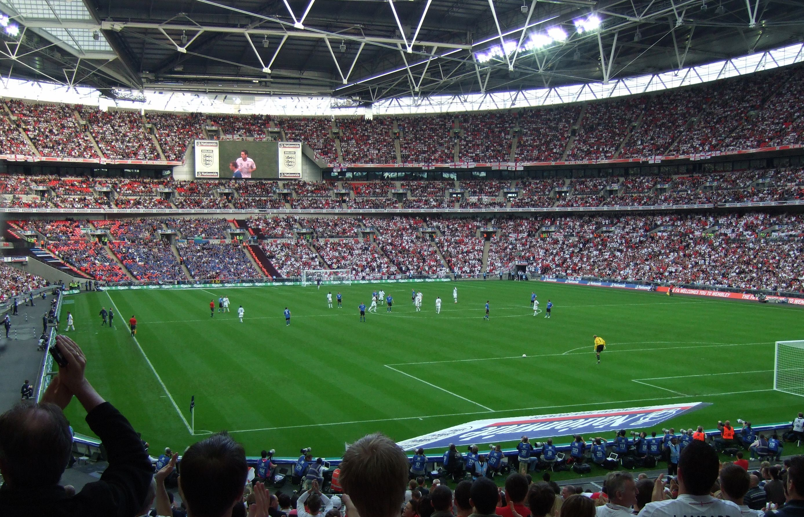This Picture Above Shows One Of The Most Enjoyed And Played Sport In England Futbol Or As What Americans Refer To As Soccer Many People Play This Sport Or Go