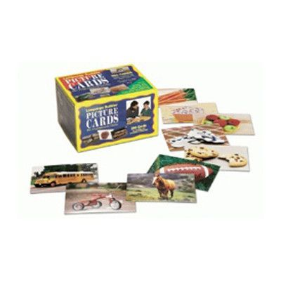 Stages Learning Materials Language Builder Picture Nouns Flash Cards