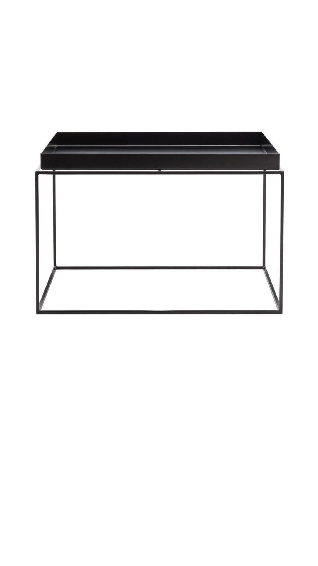 Tray Coffee Table Square H 35 Cm 60 X 60 Cm By Hay Table