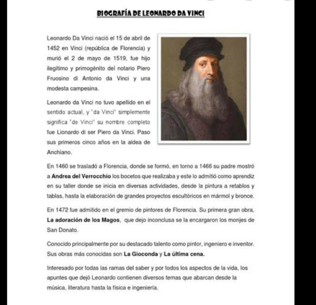 Pin De Alejandro En Educación En 2020 Leonardo Da Vinci Campesinos