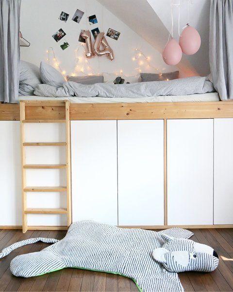 Traumhaftes Hochbett-DIY von _frida_
