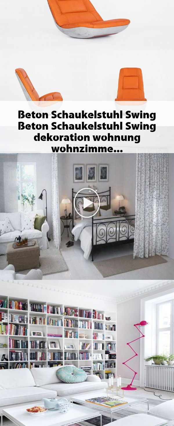 Photo of Beton Schaukelstuhl Swing #Beton #Schaukelstuhl #Swing #dekoration #wohnung