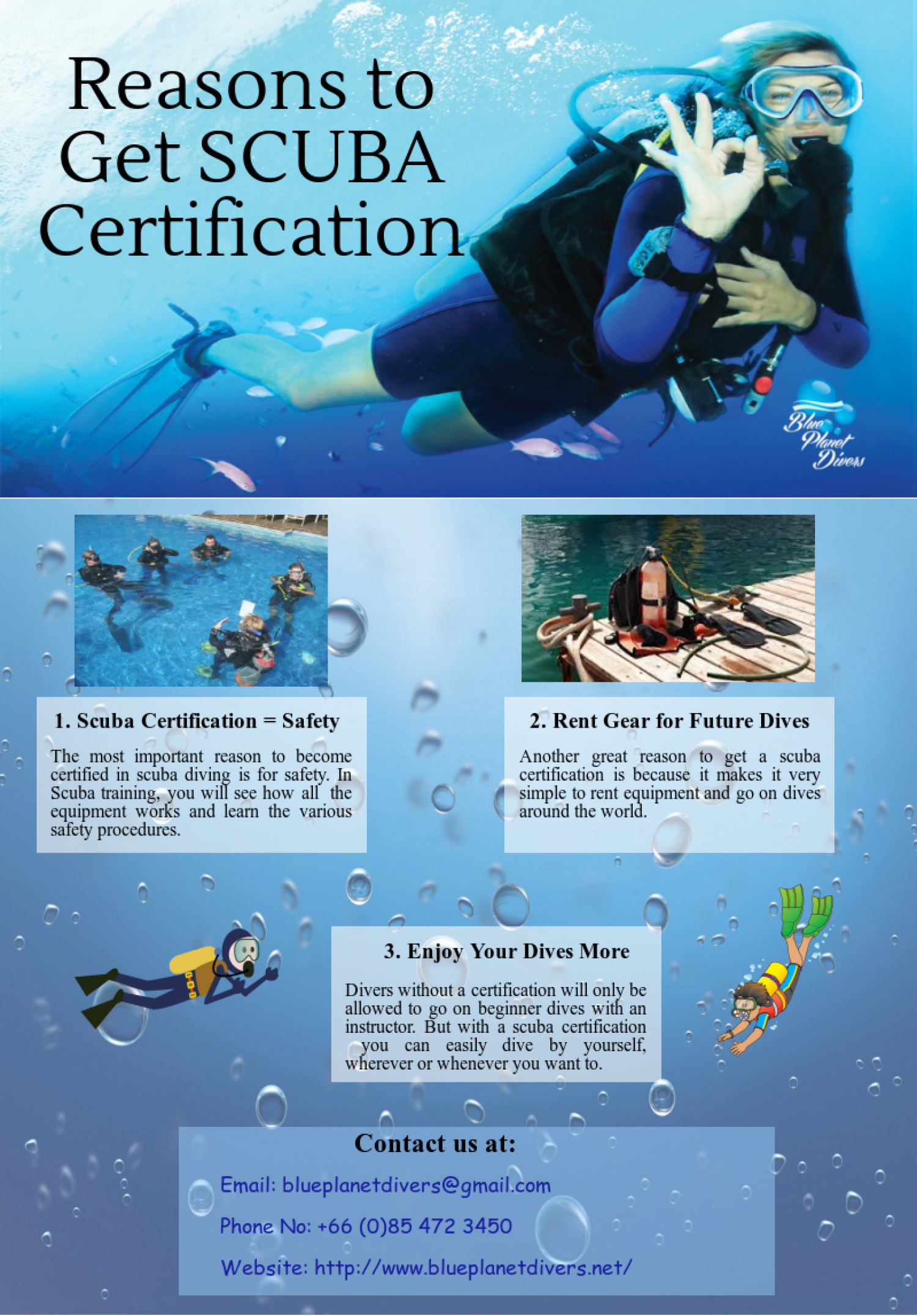 Under The Guidance Of Your Professional Padi Instructor You Gain