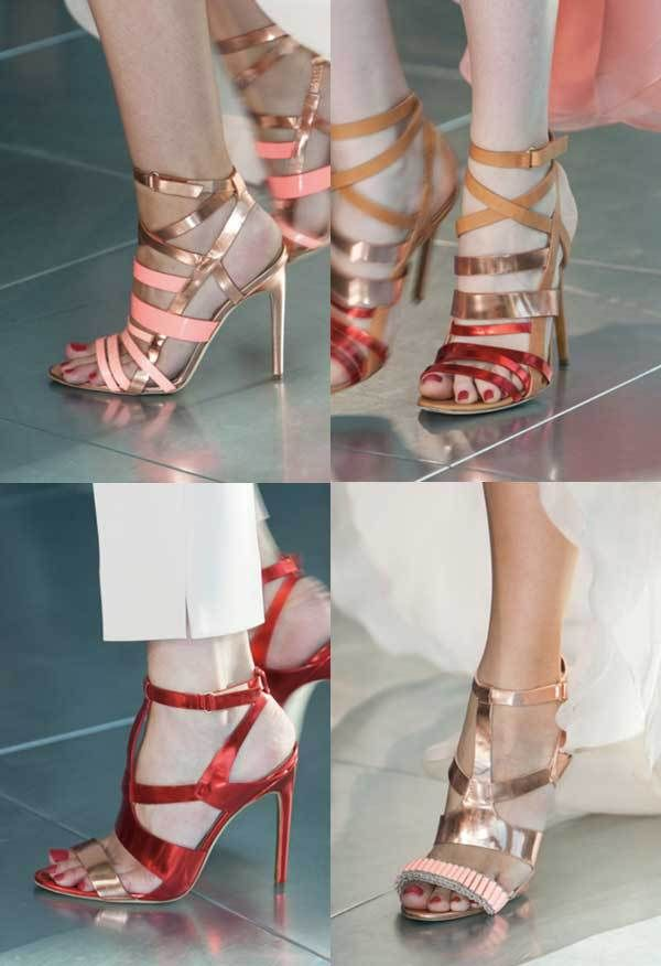 Antonio Berardi | Semana de Moda de Londres / Semana de la Moda de Londres | Primavera-Verano 2014 | Primavera-Verano 2014 | Calzado / Calzado