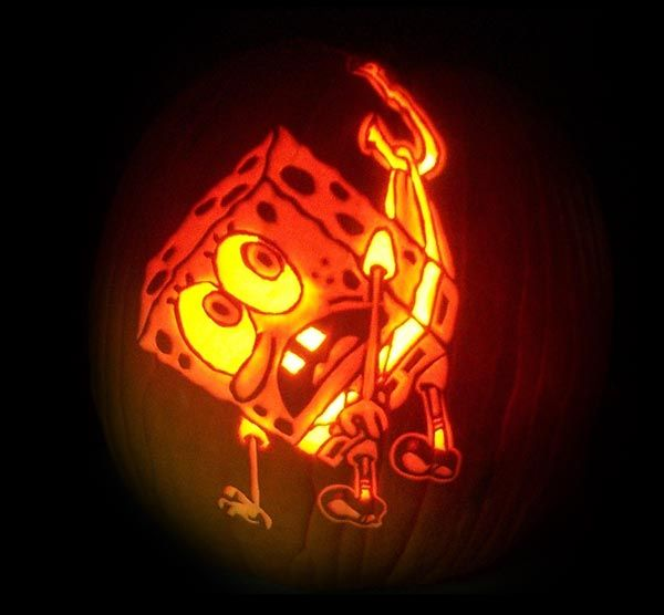30+ Scary Halloween Pumpkin Carving Face Ideas & Designs 2017 for Kids & Adults #pumkincarvingdesigns