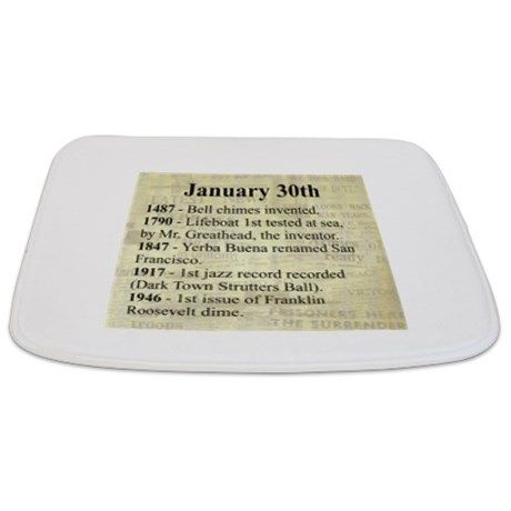 January 30th Bathmat
