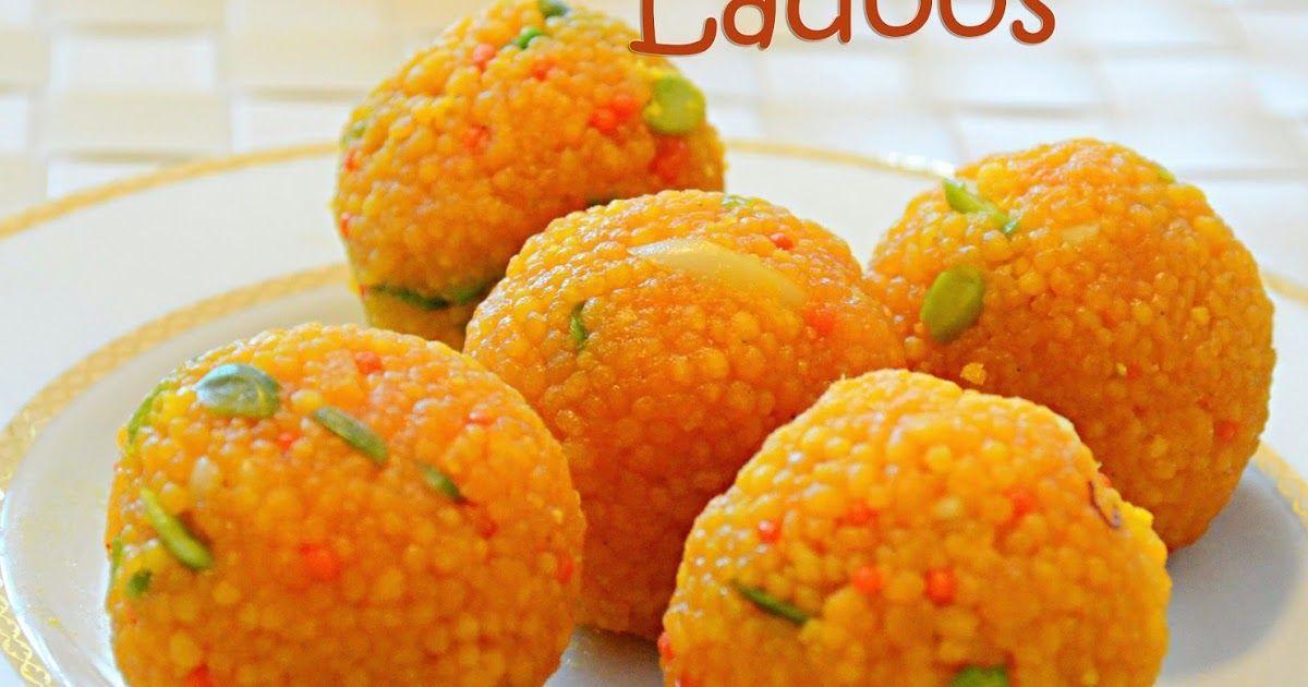 motichoor ladoo how to make motichoor ladoo easy diwali sweets recipemotichoor ladoo - Jeyashris Kitchen