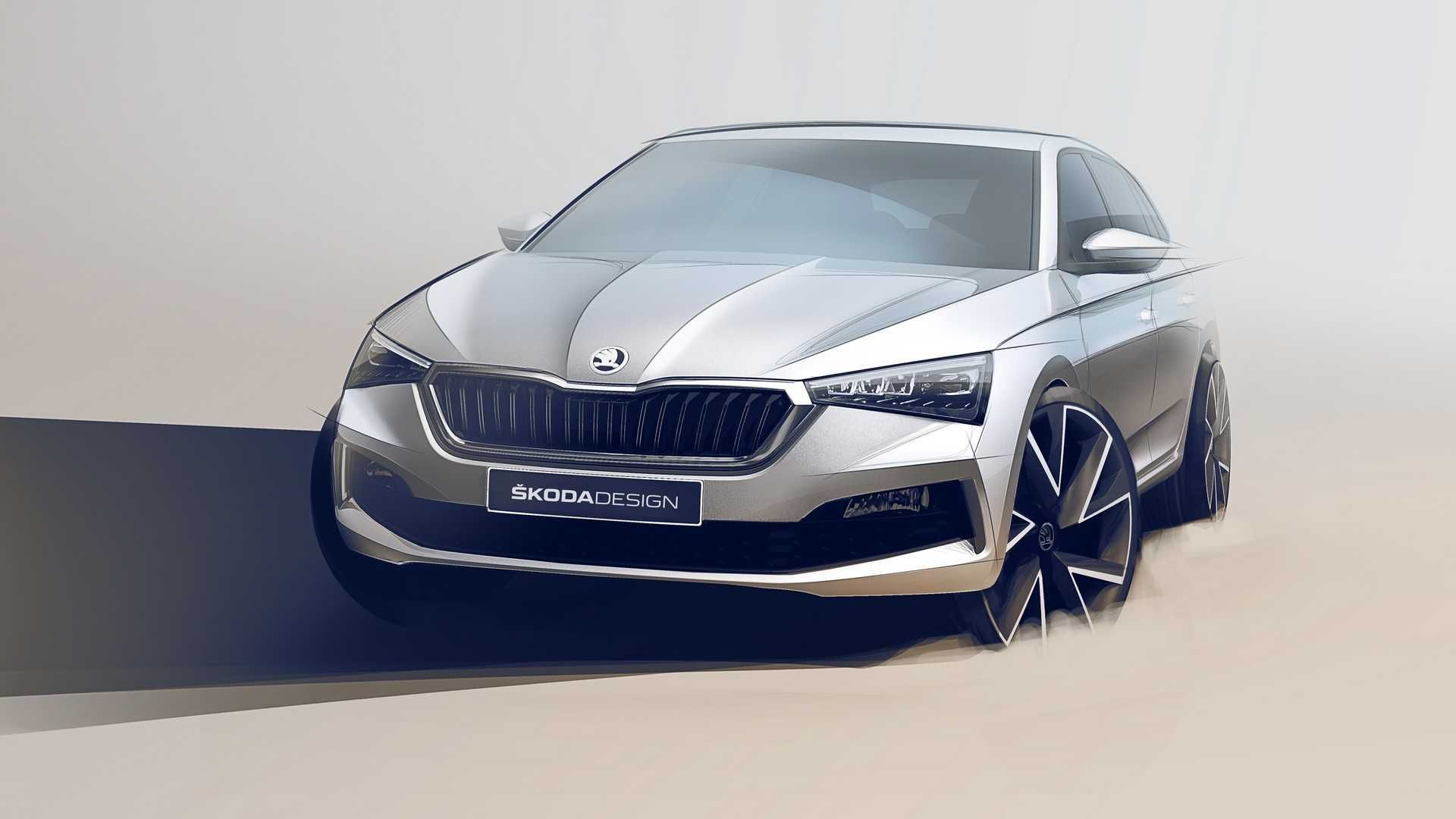 2019 Skoda Scala Revealed To Rival Vw Golf And Ford Focus Skoda Car Design Concept Cars
