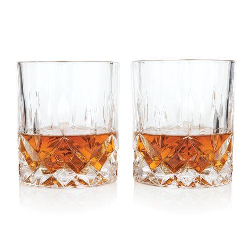 Admiral Crystal Tumblers By Viski Liquor Glass Glass Whisky Tumbler