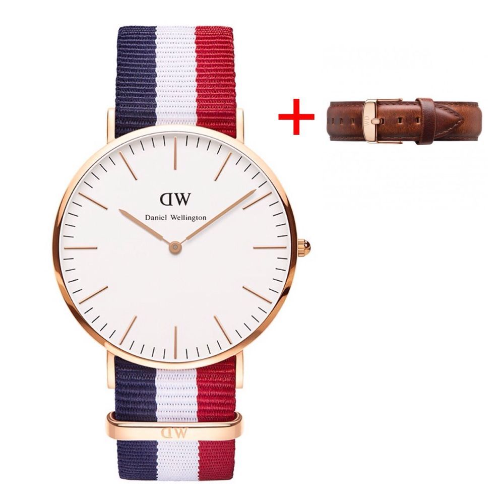 new daniel wellington classic dw cambridge rose gold watch. Black Bedroom Furniture Sets. Home Design Ideas