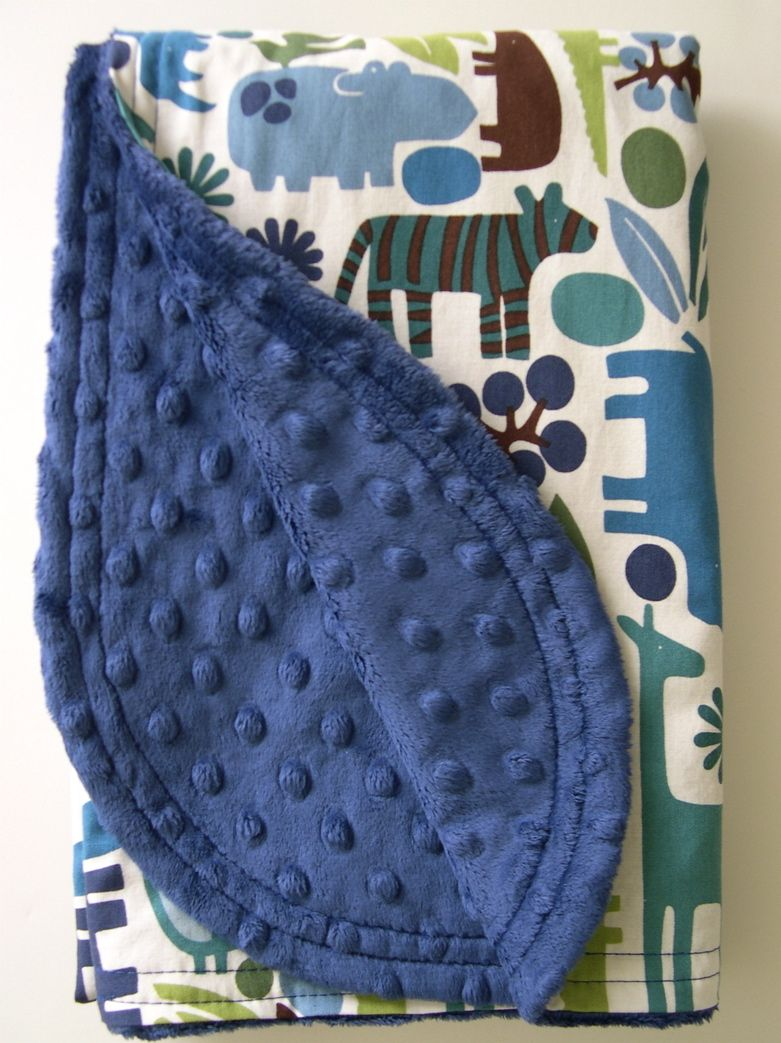 sew your own baby blanket How