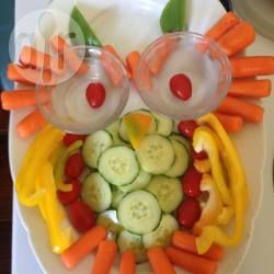 Rezeptbild gem seplatte f r den kindergarten als eule - Fingerfood kindergarten ...