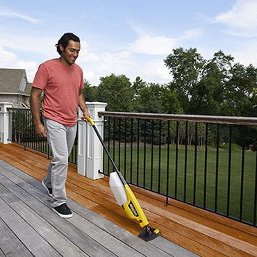 The Best Way To Stain Or Paint A Deck Decking Wooden Decks And Woods