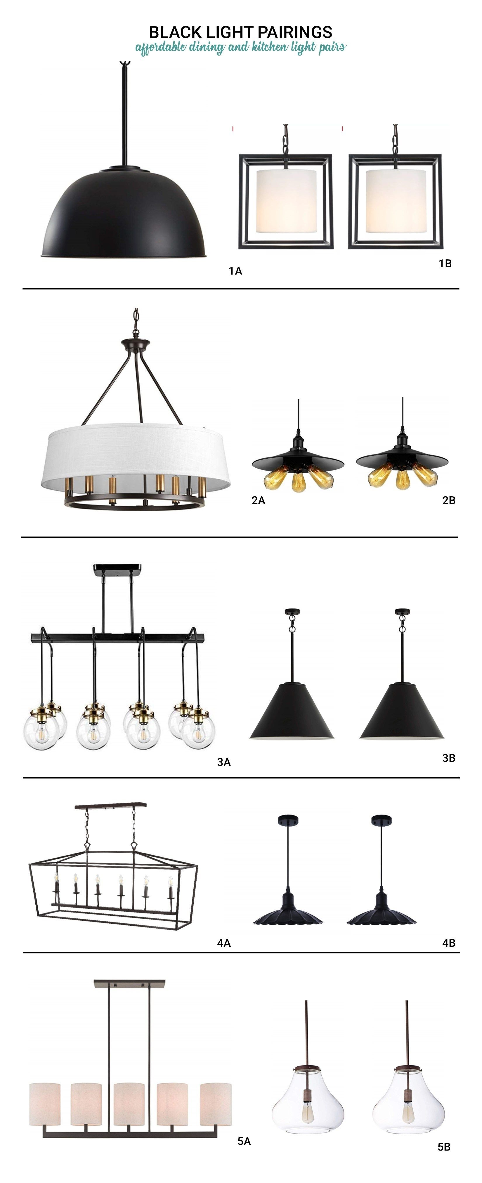 Dining Kitchen Light Pairings Kitchen Lighting Dining Pendant