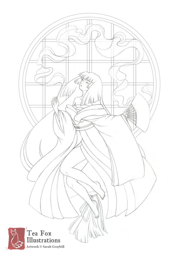The Dream Weaver | Sketch by TeaKitsune on DeviantArt
