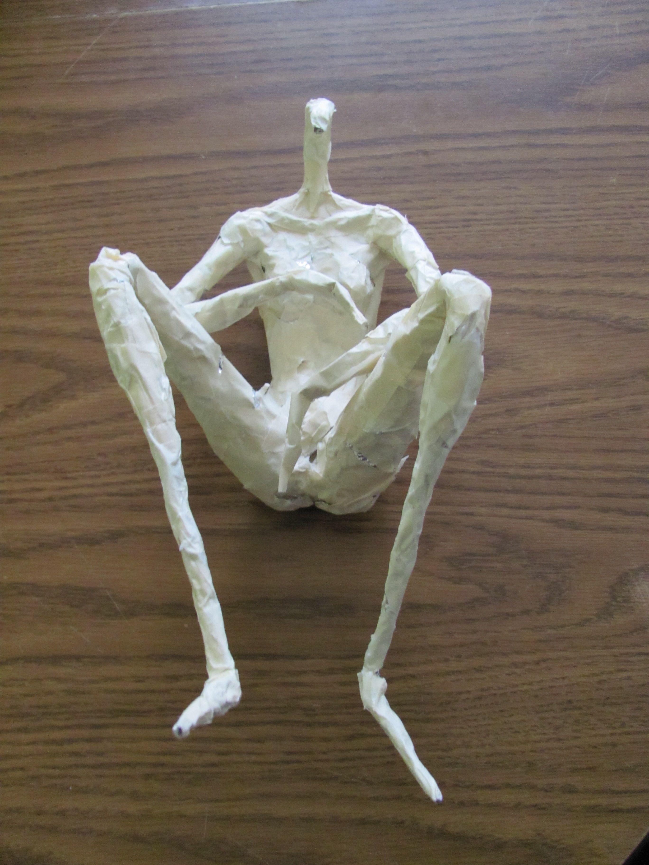 sculpture the probe papier mache google search and paper sculptures. Black Bedroom Furniture Sets. Home Design Ideas