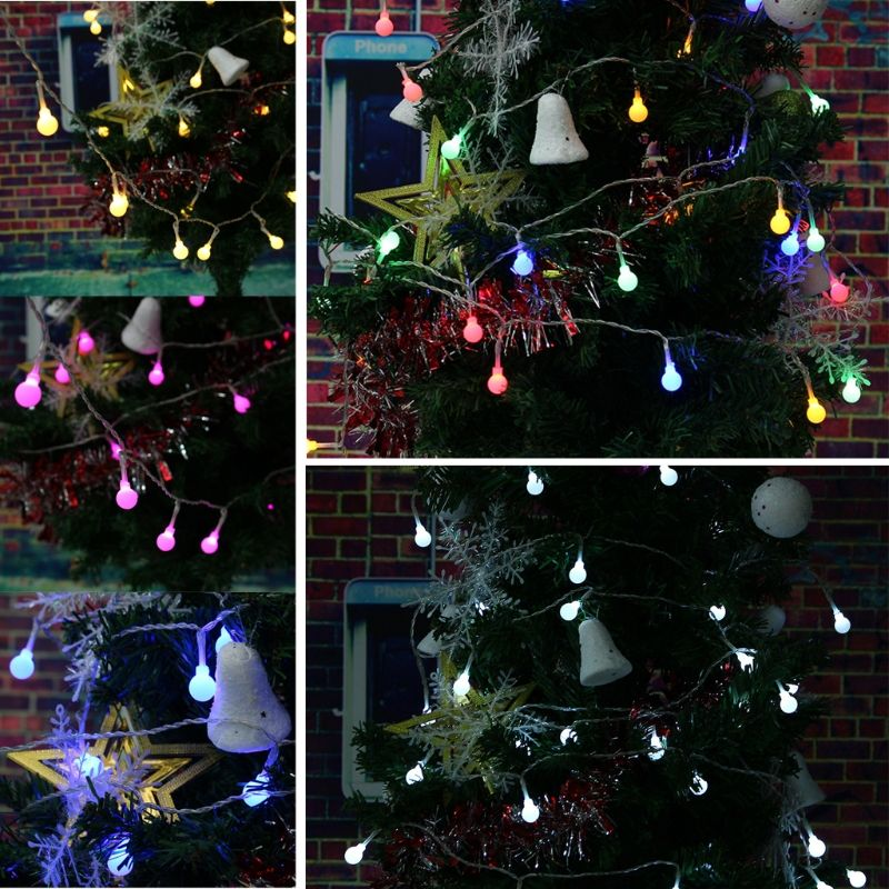 22M Party decorations LED solar led string lights Garland Christmas - solar christmas decorations