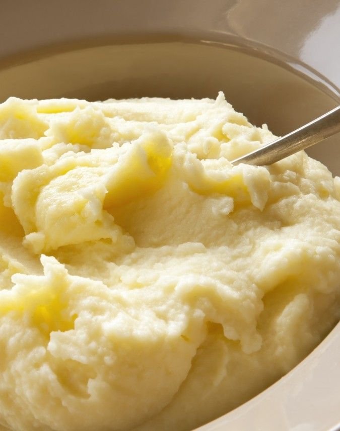 As potatoes are high in starch, other root vegetables, like parsnips and turnips, can be used for a delicious mash.