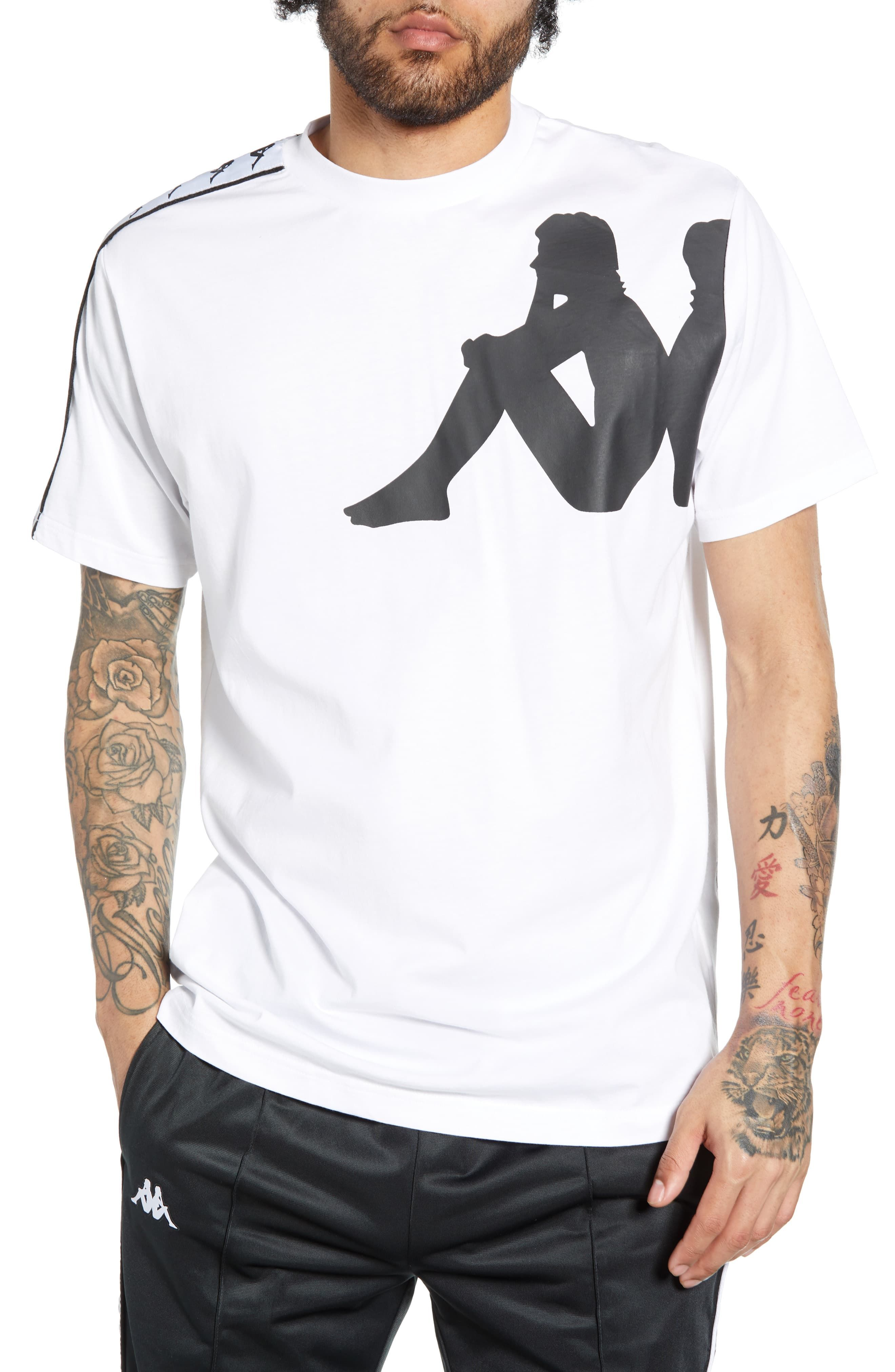 0fb7687178 Men's Kappa Authentic Buys T-Shirt, Size XX-Large - White in 2019 ...