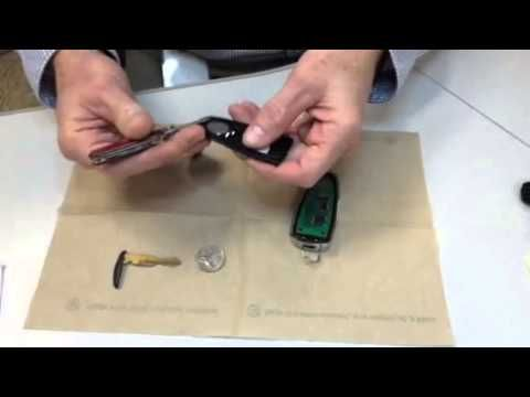 Ford Key Fob Intelligent Access Key Battery Replacement Youtube Key Fob Fobs Ford