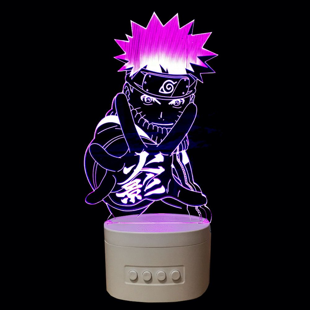 Naruto 3d Lamp Usb Led Light Night Lamp With Bluetoth Speaker For Music Price 29 95 Free Shipping Sao Animelovers Lovean Anime Anime Decor Naruto