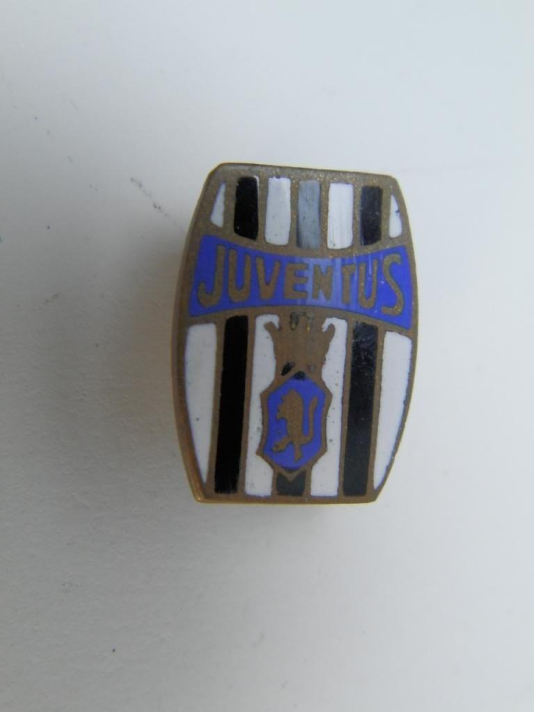 Vecchia spilletta JUVENTUS Torino 1940 old pin spilla calcio football