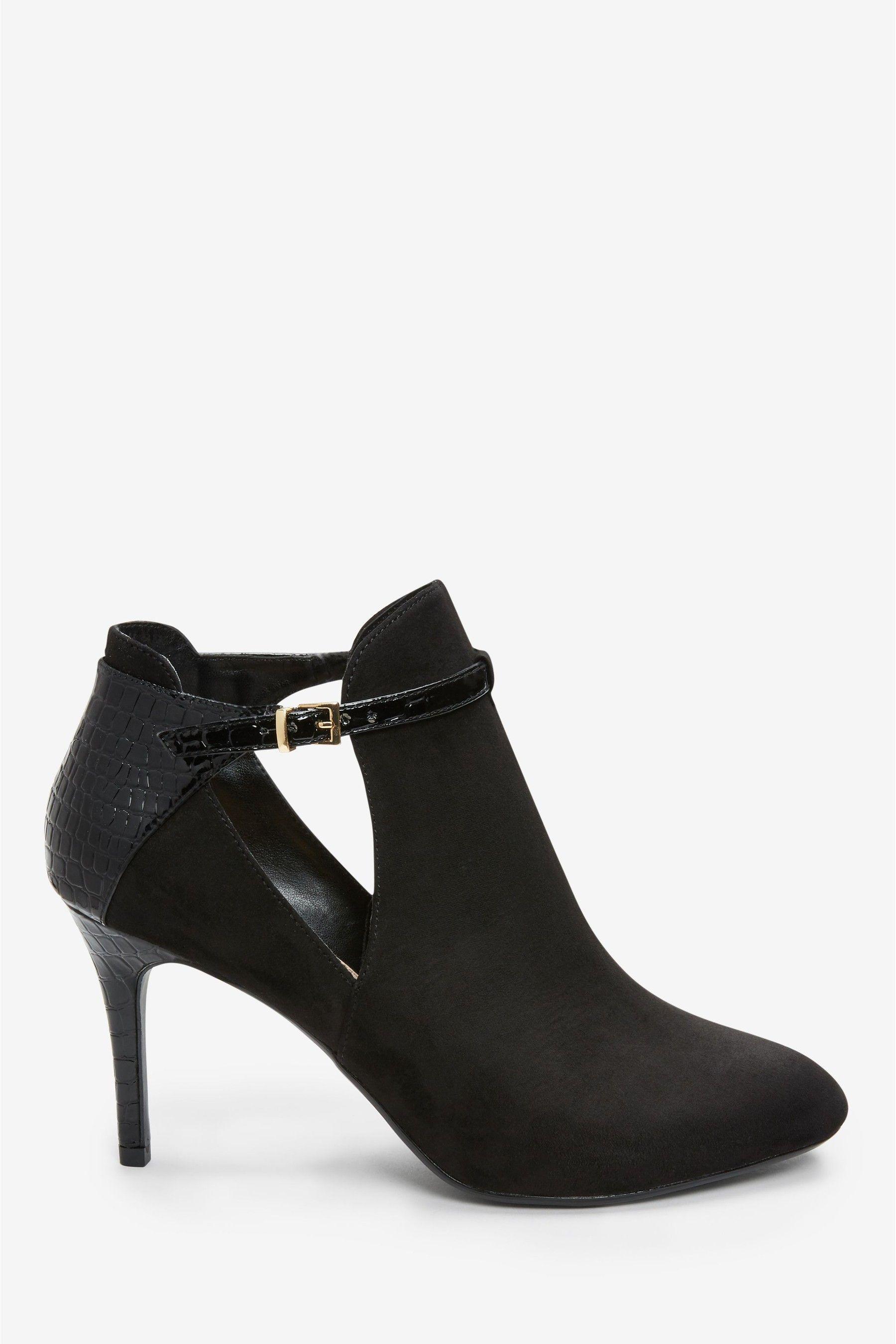 High heel shoe boots, Shoe boots