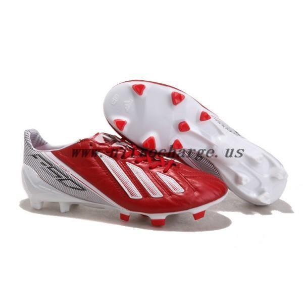 Messi 2012-2013 UEFA CHAMPIONS LEAGUE Adidas Adizero F50 TRX FG Red White  football shoes