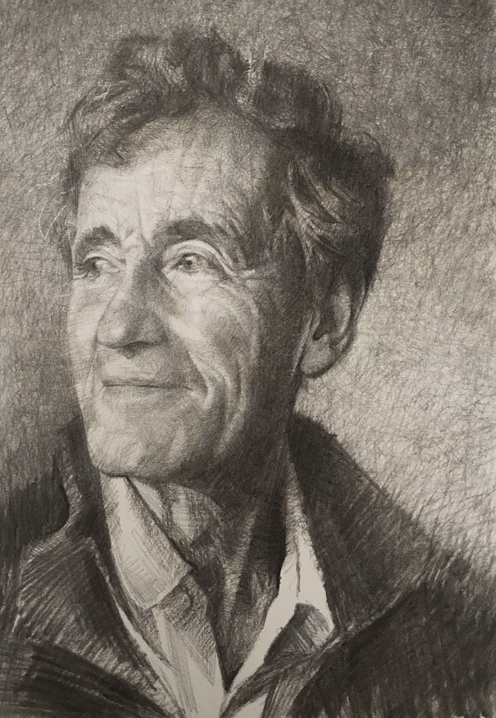 Gareth Reid Wins Heat 6 Of Sky Arts Portrait Artist Of The Year Cass Art Portrait Artist Portrait Artists Pencil Life Drawing