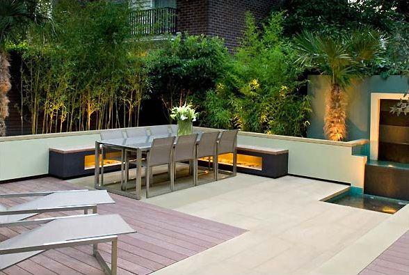 Modern garden exteriors Pinterest Kris allen, Terrazas y Jardines
