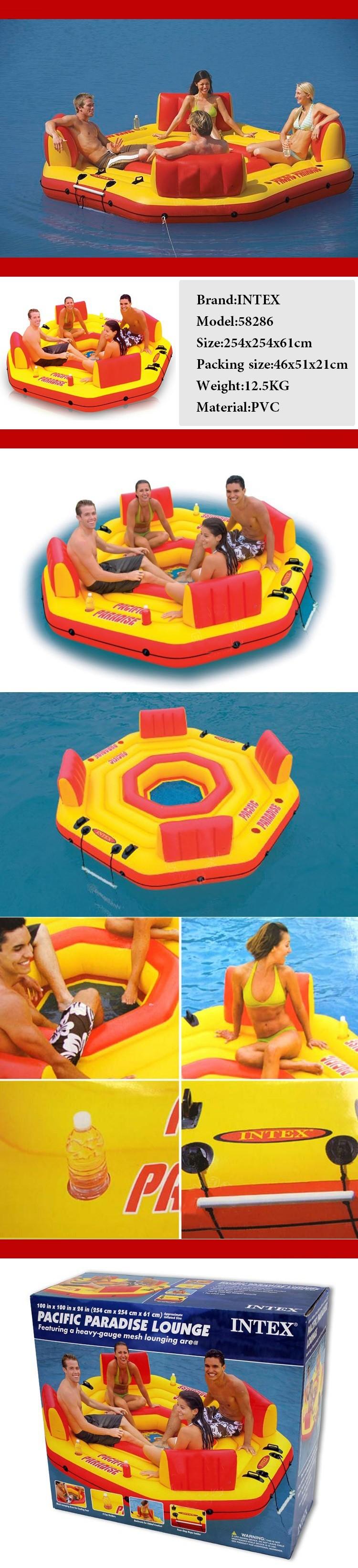 Intex inflable deportes acuaacuteticos flotador de la for Accesorios para piscinas inflables