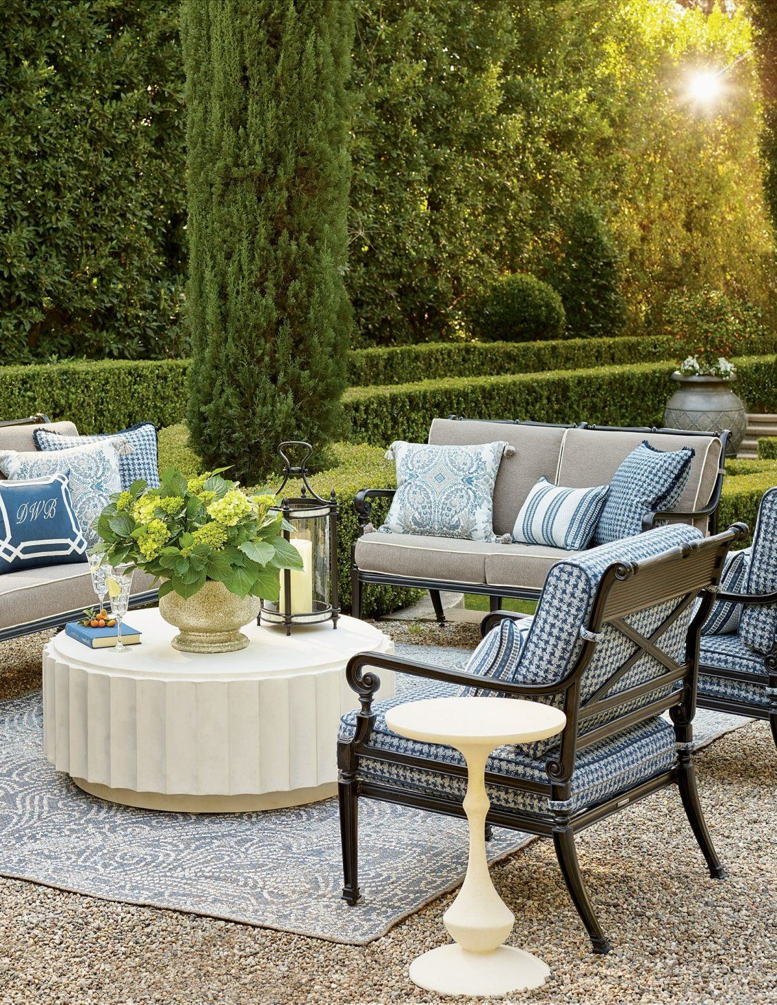 Carlisle Seating in Onyx Finish | Fine furniture design ... on Fine Living Patio Set id=53040