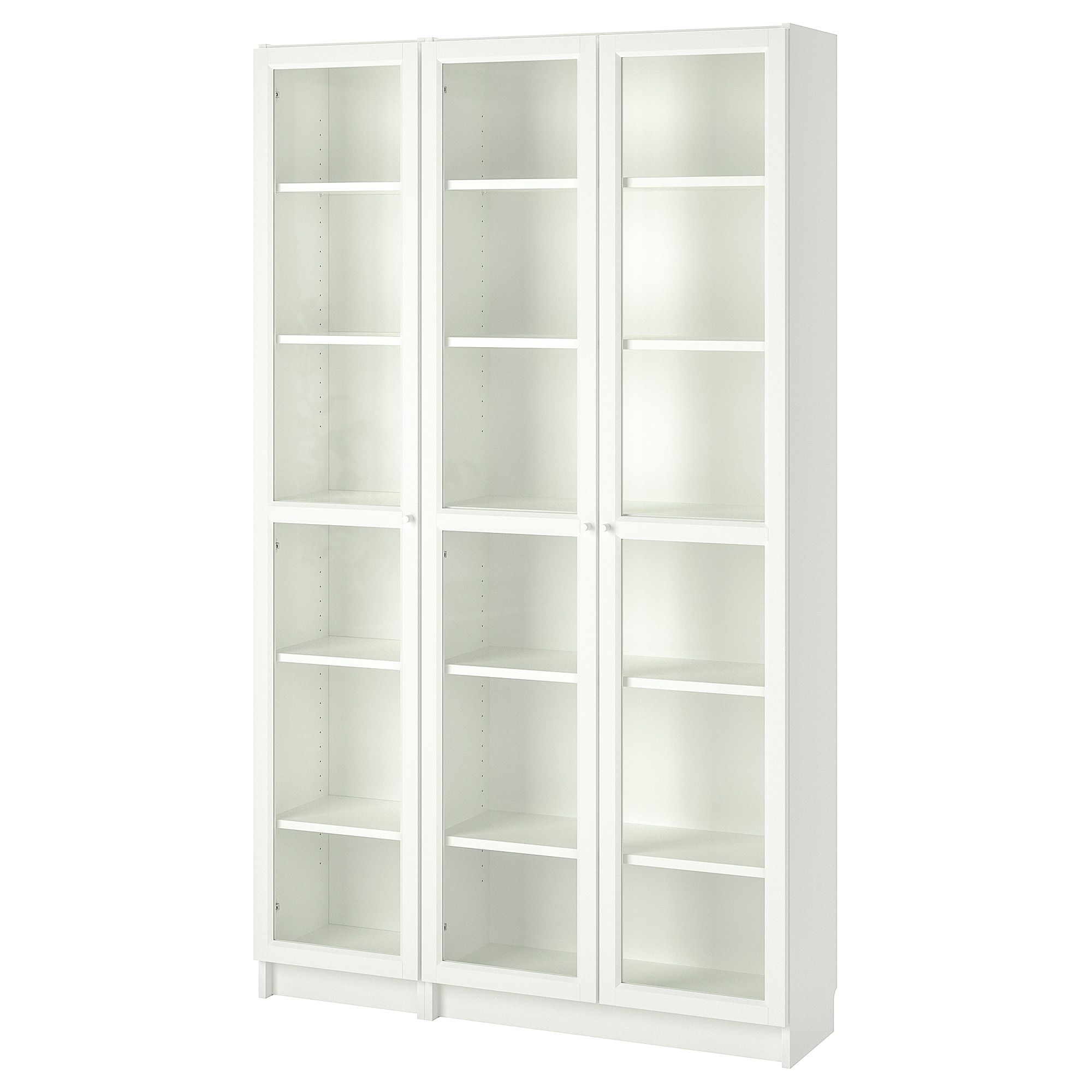 Ikea Billy Oxberg White Bookcase With Glass Doors Ikea Bookcase Bookcase With Glass Doors Bookcase