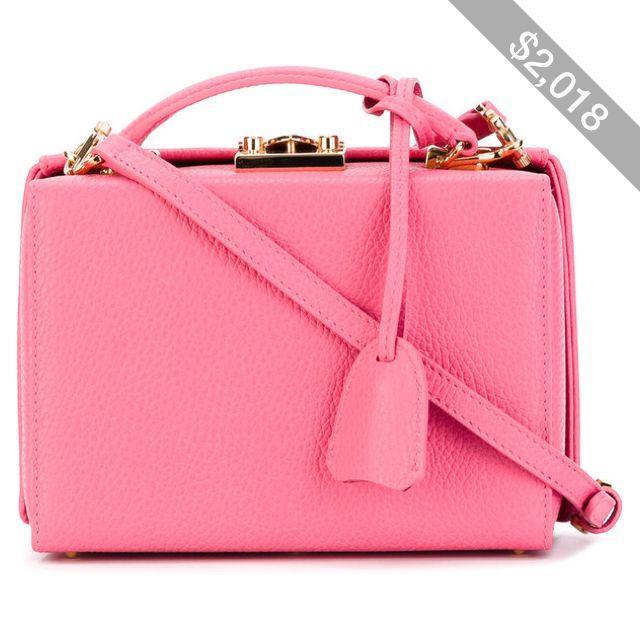 Grace Small Box tote bag - Pink & Purple Mark Cross Low Price Cheap Online mko7e0eQs