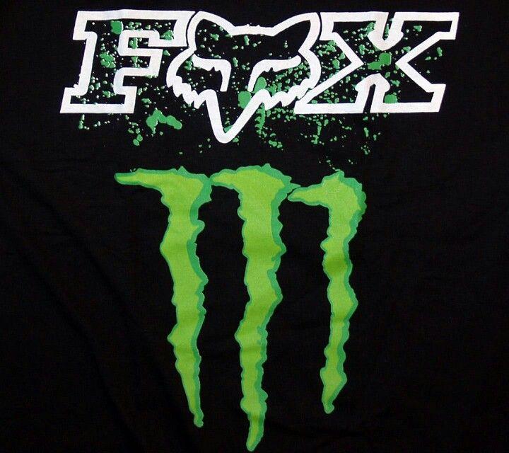 monster full toss pinterest monsters and motocross rh pinterest co uk Monster Energy Fox Logo DC Monster Fox Logo