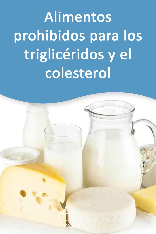 Dieta para colesterol y trigliceridos elevados