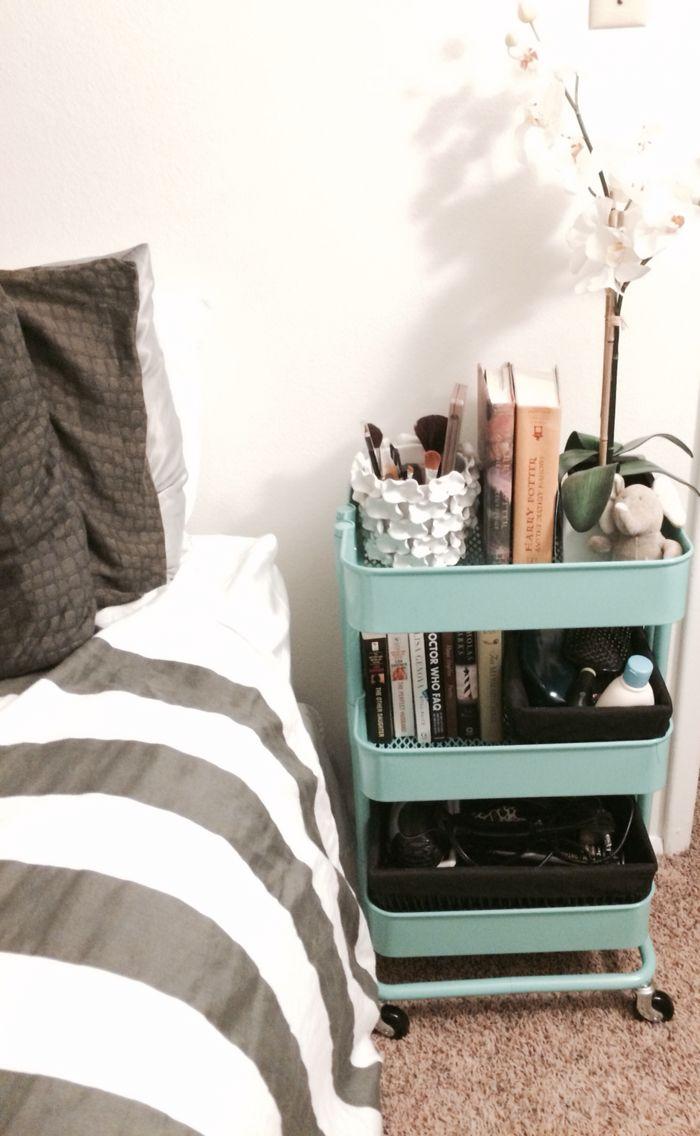 IKEA Raskog cart for a night stand  Future Home Ideas in
