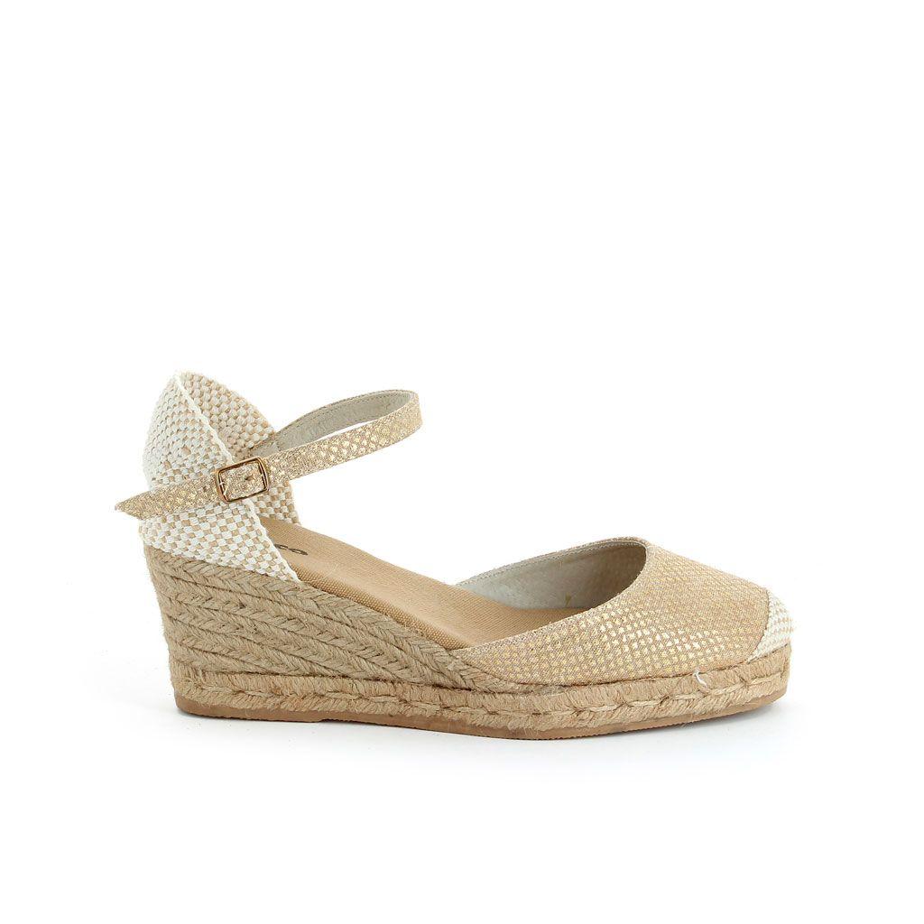 f8e8592c Mujer Sandalias Cuñas de Esparto Camalux   shoes in 2019   Zapatos ...