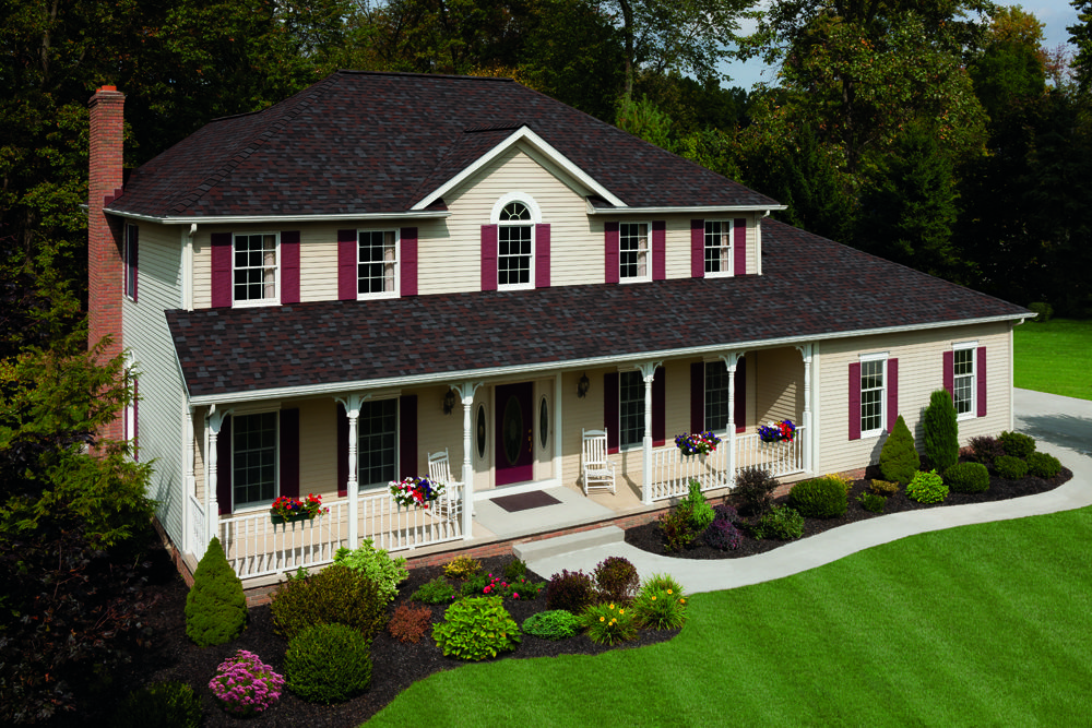 Pin By Jeff Home Improvements Inc On Owens Corning Duration House Paint Exterior Shingle Colors Shingling