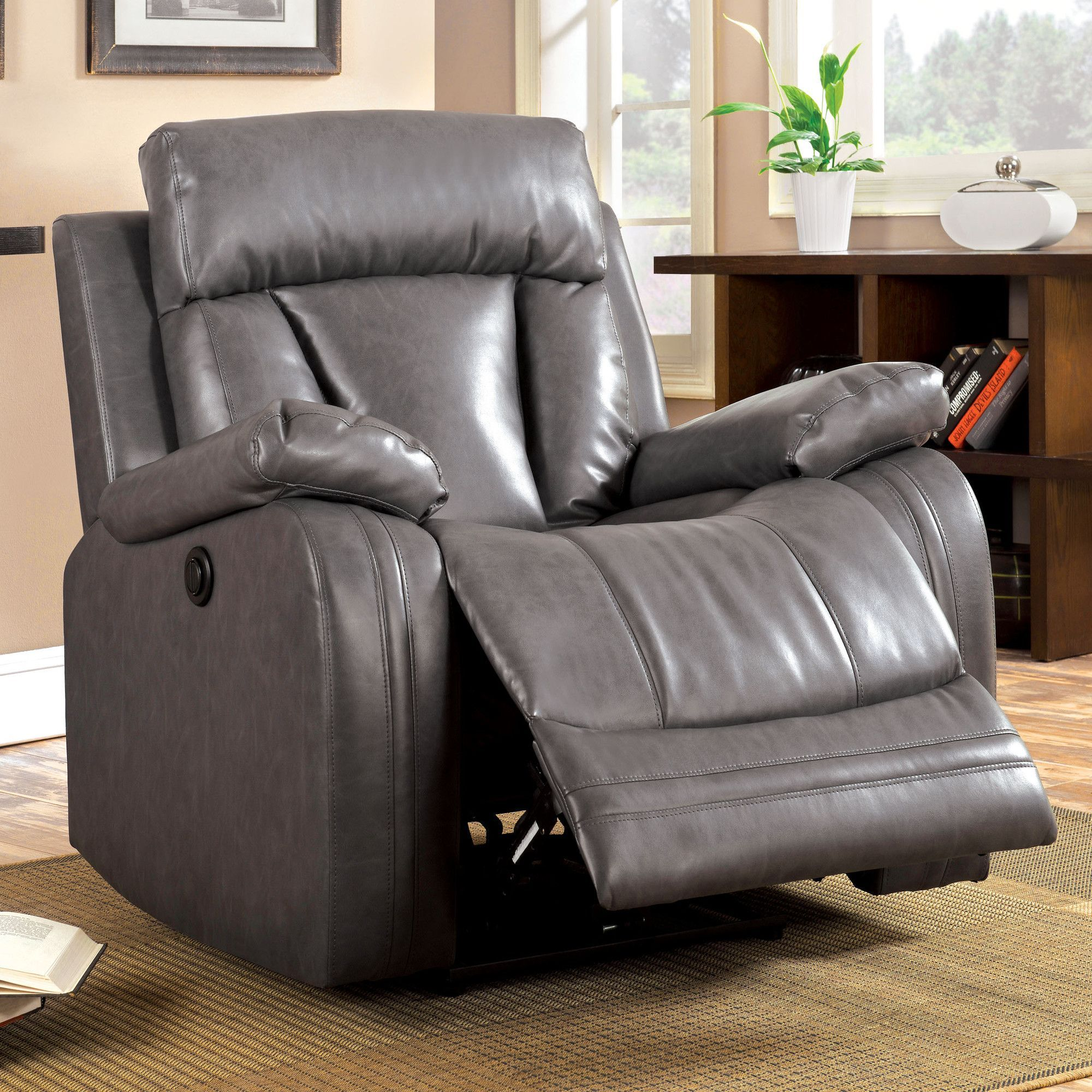 Motor Recliner For Easy Recline