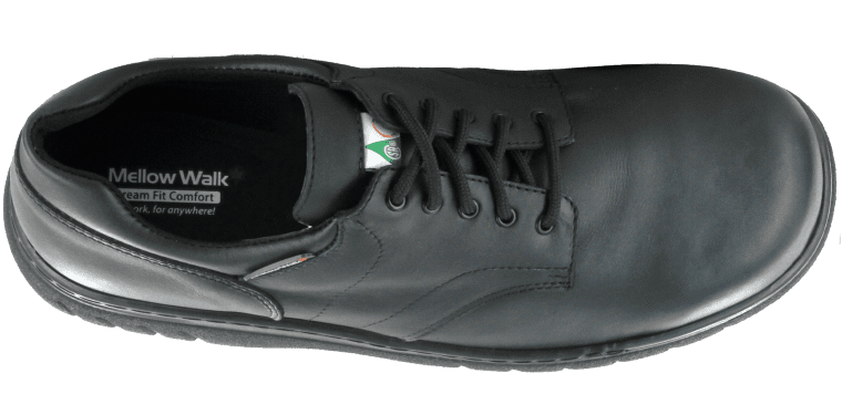 Comfort safety shoes that insist on being worn and admired