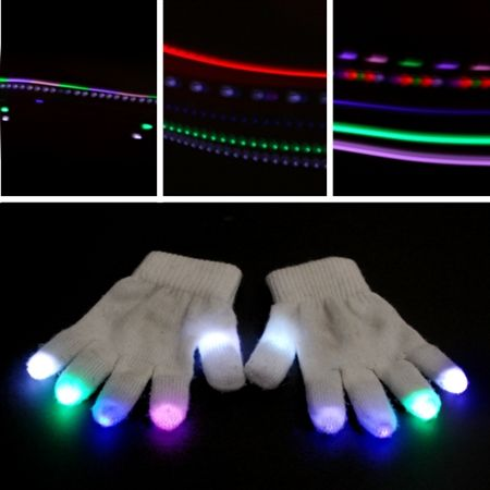 I want these things. Love light gloves. #raveready