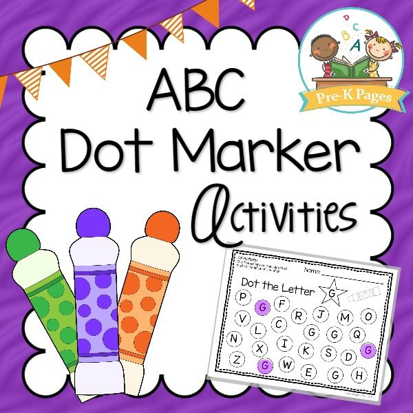 ABC Bingo Dot Marker Activities How to Teach ALPHABET LETTERS in