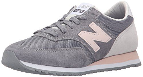 New Balance Women\u0027s CW620 Athleisure Pack Running Shoe, Grey/Pink, 8 B US