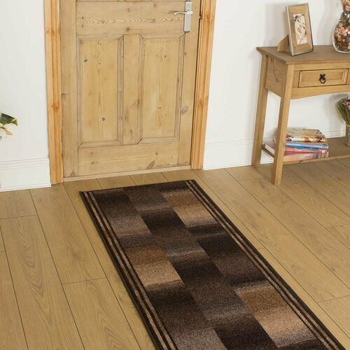 Photo of Rosalind Wheeler carpet Almeida in brown | Wayfair.de