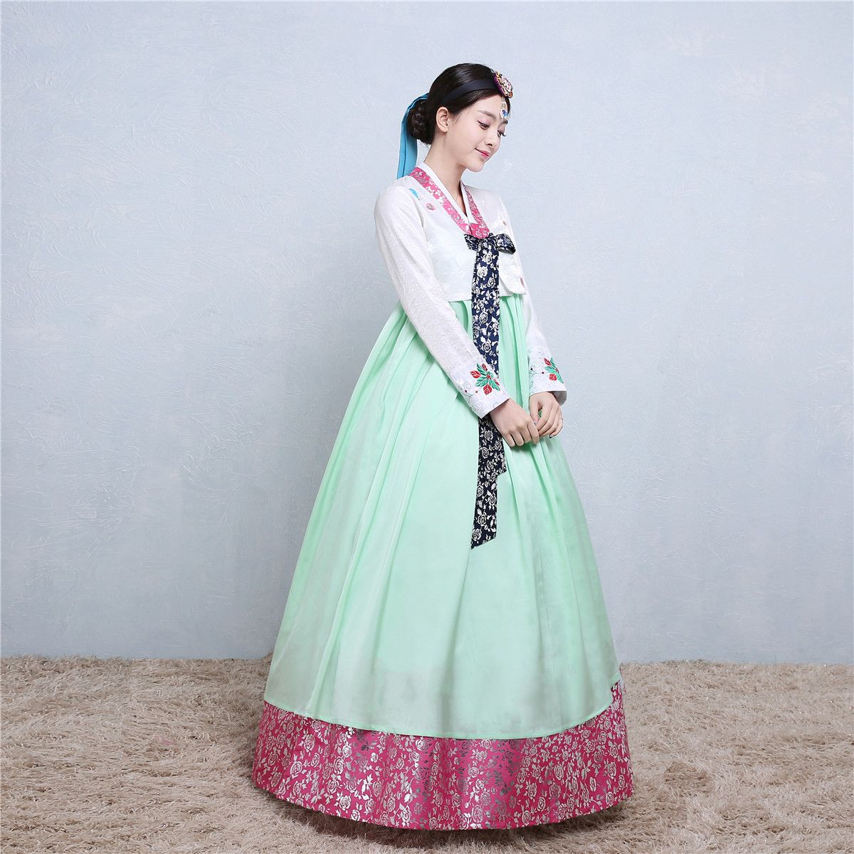 Cheap traditional korean clothing, Buy Quality dress hanbok directly ...